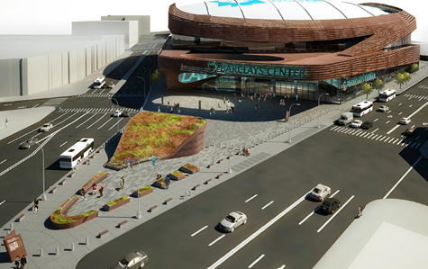 Barclays Center – An arena grows in Brooklyn