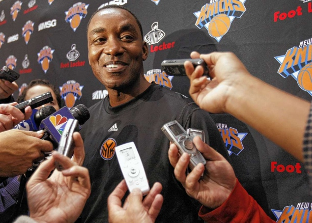Did Isiah Thomas ever really leave the NY Knicks?