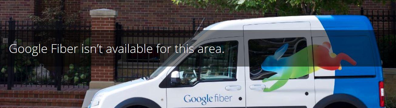 When is Google Fiber coming to my neighborhood?