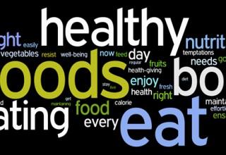 healthy eating wordle