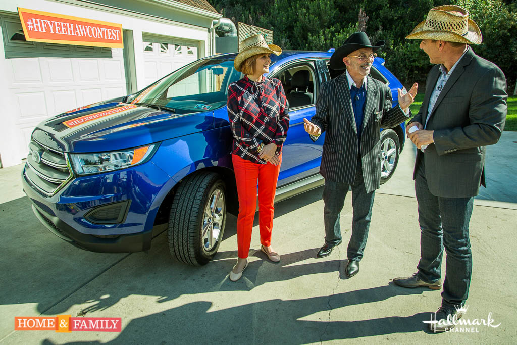 @HomeandFamilyTV Car Giveaway