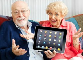 Tablets for Seniors – supported by #FIOSNY.