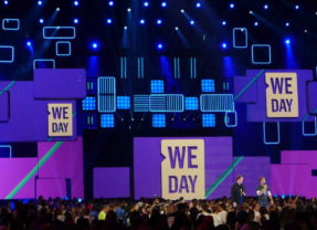 Seth Rogen Earns His Way to WE Day