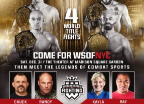 World Series of Fighting – New Year's Eve Mega Event – #WSOFNYC
